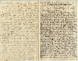 Letter from T.H. Barker to his wife Mary, 3 November 1903, p1.png