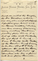 Letter from T.H. Barker to his wife Mary, 19 October 1903, p05.png