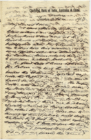 Letter from T.H. Barker to his wife Mary, 2 November 1903, p1.png