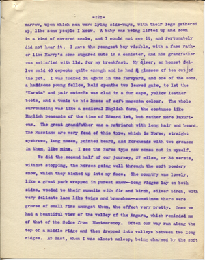 Letter from T.H. Barker to his wife Mary, 27 November 1903 p02.png