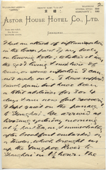 Letter from T.H. Barker to his wife Mary, 19 October 1903, p02.png