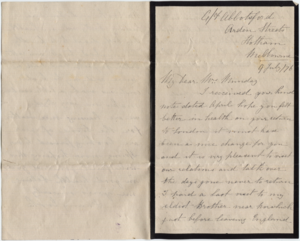1876-07-09 Letter from Fanny Cook to Catherine Munday 1.png