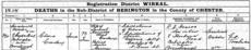 Death certificate of Clara Croskery.png