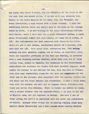 Letter from T.H. Barker to his wife Mary, 23 November 1903 p06.png