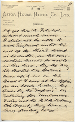 Letter from T.H. Barker to his wife Mary, 19 October 1903, p07.png