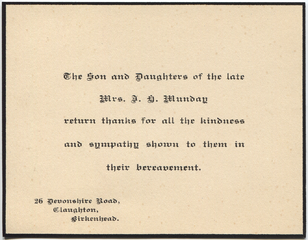 Thankyou card from Catherine Munday's children after her death.png