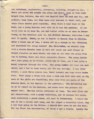 Letter from T.H. Barker to his wife Mary, 23 November 1903 p13.png