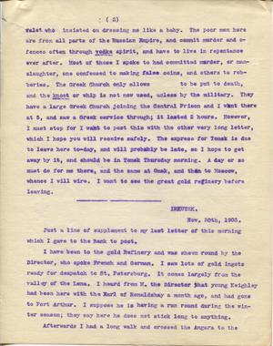 Letter from T.H. Barker to his wife Mary, 27 November 1903 p05.png