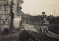 Marian and Nyria Hancox at Morant c. 1935 (cropped).png