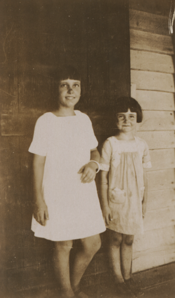 Margaret and Joan Hall, Cossack, cropped.png