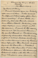 Letter from T.H. Barker to his wife Mary, 14 December 1903, p01.png