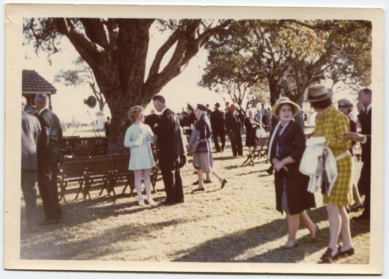 East Perth Cemeteries, pioneers service, 1969.png
