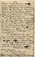 Letter from T.H. Barker to his wife Mary, 12 December 1903, p4.png