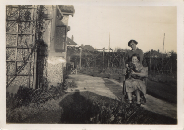 Marian and Nyria with Lena, c.1935.png