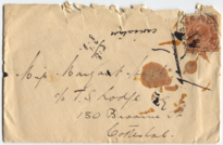 Letter from Aubrey Hall to Margaret Hall, 1935-12-25, envelope front.png
