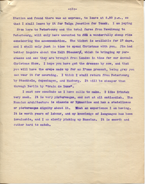 Letter from T.H. Barker to his wife Mary, 27 November 1903 p06.png