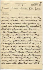 Letter from T.H. Barker to his wife Mary, 19 October 1903, p04.png