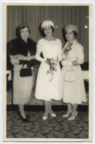 Constance, Joan, and Margaret at Joan's wedding, Sept 1960 (full).png