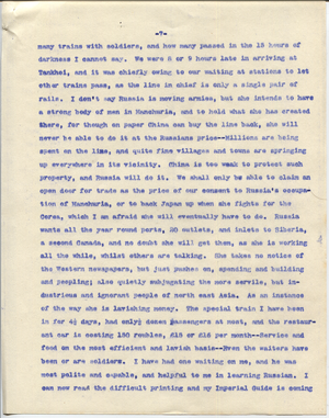 Letter from T.H. Barker to his wife Mary, 23 November 1903 p07.png