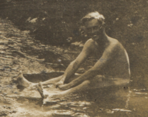 Geoff hancox in a river (cropped).png
