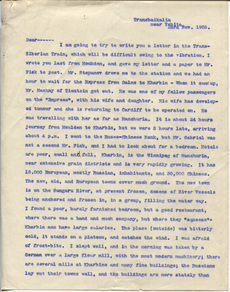 Letter from T.H. Barker to his wife Mary, 23 November 1903 p01.png