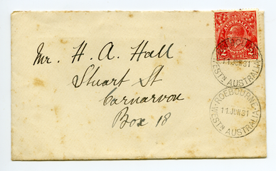 25 002a Letter from Ernest to Aubrey, June 9th, envelope.png