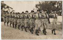 Joan Hall, passing out parade, January 1943 (full).png