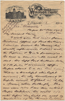Letter from T.H. Barker to his wife Mary, 31 October 1903, p01.png
