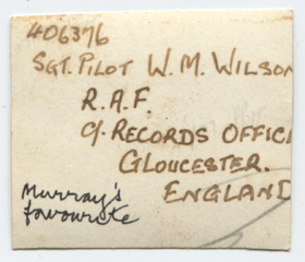 Photo of Margaret sent to Murray in England, back.png