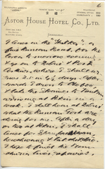 Letter from T.H. Barker to his wife Mary, 19 October 1903, p06.png