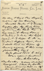Letter from T.H. Barker to his wife Mary, 19 October 1903, p09.png